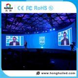 Visualización de interior de la cortina de la alta calidad P3/P4/P5/6 LED de HD para la reunión/la etapa