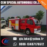Agua/espuma/coche de bomberos seco del tanque del polvo