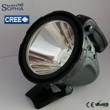 Leistungsfähige 10W IP54 imprägniern CREE LED Taschenlampen-Letzte 6-18 Stunden