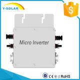 Inversor micro Wvc del lazo de la red de la prueba del agua de Wvc 1200W-220V