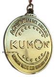 Médaille pour demi de marathon de SP avec du nickel de Matt. Chemin courant