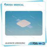 Vendaje para heridas del pie de Huizhou Foryou de las úlceras del alginato de la preparación de la quemadura de la herida del cuidado del alginato del alginato diabético médico de la fibra