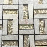 よいQuiltyの安い価格のタイル形式のフォーシャンのモザイク工場プールのタイルおよび装飾的な壁のクリスタルグラスのモザイク