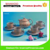 Design traditionnel Ensemble de café moderne en porcelaine Ensemble de thé avec des tasses et des soucoupes