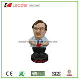 Новый содружественный подгонянный Polyresin Figurine Bobblehead для подарка промотирования и домашнего Decoraiton