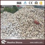 도매 호랑이 피부 빨간 화강암 포석 또는 입방체 돌 또는 자갈 돌