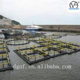 Jaula de los pescados del tubo SDR11 del HDPE
