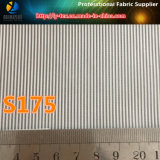 Narrow Strip Yarn Dyed Fabric in Polyester Textile Stripe for Fabric Jacket Lining (S173.175)