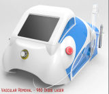 Déplacement vasculaire de laser de la diode 980nm professionnelle (10W)