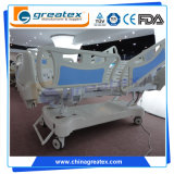 Роскошная больничная койка функций ICU бортовых рельсов PP электрическая 5 (GT-BE5020)