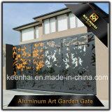 Porte de décoration métallique Entrée de villa