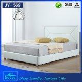 중국에서 현대 디자인 호화스러운 둥근 침대