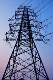Tour de boîte de vitesses d'énergie électrique de bâti en acier de cornière