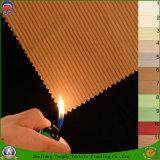 Hauptgewebe gesponnenes Polyester-Gewebe-flammhemmendes Stromausfall-Vorhang-Gewebe für Fenster