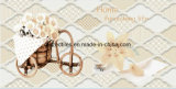 3060 azulejos de cerámica de la pared del color del cm del cuarto de baño caliente ligero del diseño