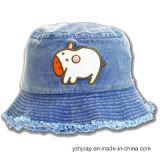 Шлем младенца крышки малышей с вышивкой и крышкой детей логоса печатание