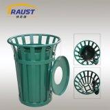 고품질 무거운 계기 미국 작풍 쓰레기 Receptacels 또는 옥외 금속 쓰레기통