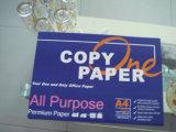 Papier de photocopie de papier de bureau de papier-copie de la pâte du bois 65GSM de la blancheur 95-97% A4