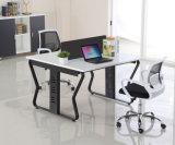 金属の家具6のシートのオフィスの区分L形ワークステーション(HX-NCD107)