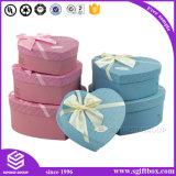 Pendiente de empaquetado elegante del cosmético de la joyería del rectángulo de papel del corazón