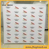 stand droit de drapeau d'étalage d'exposition de tissu de 8FT Waveline /Tension