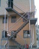 Prefabricated 강철 구조물 계단