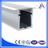 Aluminio anodizado de aluminio LED Canal carcasa perfilada
