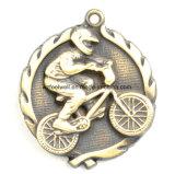 La médaille de récompense de 2017 sports faite sur commande la plus neuve