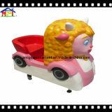 Equipamento de parque de diversões com vídeo e música Kiddie Ride Wolffy