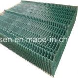 Зеленые покрынные PVC сваренные панели ячеистой сети