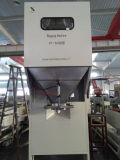 Máquina de ensacar destrozada secada del calamar con la banda transportadora