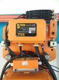 Alzamiento de elevación de 5 toneladas con la fuente de alimentación 220V-690V