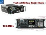 Manpack beweglicher Radio mit hohe Kapazitäts-Batterie-Satz für Militär, taktischer militärischer beweglicher Radio in 30-88MHz
