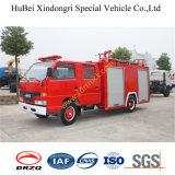 2ton Vrachtwagen Euro4 van de Brand van het Water van Isuzu de Tedere