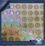 Anti-Vervalst van het Hologram van het Beeld van mensen Sticker