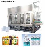 パルプの熱いいちごの飲み物の満ちるびん詰めにする機械が付いている2017新技術の自動ジュース