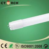 Tube nano plastique du boîtier DEL T8/T5 de tube du tube DEL de la matière 18W de Ctorch