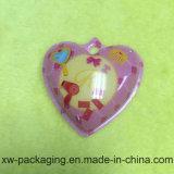 Bandeja contínua plástica extravagante impressa Heart-Shaped da bolha dos PP