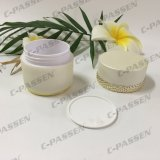 Frasco de creme acrílico luxuoso novo da chegada 30g 50g para o empacotamento do cosmético (PPC-ACJ-121)