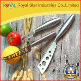 Couteau en gros de fromage d'acier inoxydable de qualité pour la vaisselle de cuisine (RYST0175C)