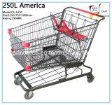 250L América Estilo Carrinho de Compras