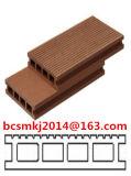 Revestimento ao ar livre Rachadura-Resistente de WPC com textura de madeira 140*25mm da natureza