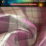 Tela Yarn-Dyed del telar jacquar, tela del Spandex para la ropa del golf