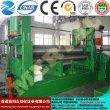 Venda quente! Máquina de rolamento simétrica hidráulica da placa de três rolos Mclw11nc-30*2500, máquina de dobra