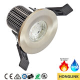 8W IP65 Dimmable LED Down Light avec 90min de résistance au feu