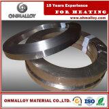 Striscia stabile di resistività Ni80 Chrome20 Nicr80/20 per il resistore di ceramica