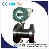 Compteur à gaz de la turbine Ss304 pour l'air de température élevée