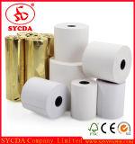 Roulis de papier blanc de bonne qualité de papier thermosensible de Pring