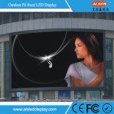 Muestra de alto brillo P8 LED para hacer publicidad exterior