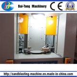 Machine van het Zandstralen van de Hoge Efficiency van het Type van draaischijf de Automatische voor Stukken